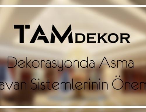Dekorasyonda Asma Tavan Sistemlerinin Önemi