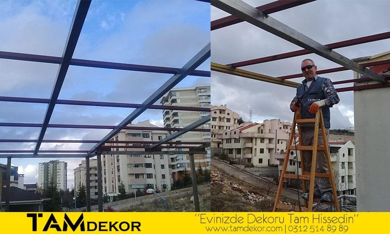 Ankara Teras Çatı Kapatma